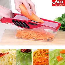 5 Blades Mandoline Slicer Vegetable Cutter Potato Onion Carrot Grater Chopper AU