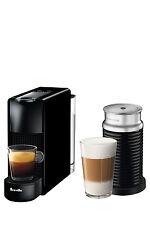 NEW by Breville Essenza Mini & Milk capsule coffee machine - BEC250BLK - Black