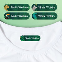 Personalised Deluxe Jungle Iron On Clothing Clothes Name Labels