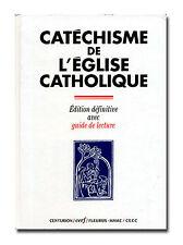 Catechisme de L'Eglise Catholique. Edition définitive HB 1998 Catholic   W7
