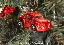 Rare Custom VW Volkswagen Beetle Christmas Ornament Bug 1/64 Herbie Fully Loaded