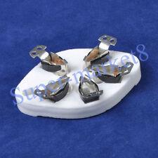 4Pcs 5Pin Ceramic Tube Socket for 807 27 37 56 76 46 Fu7 24 Valve U5A Chassis