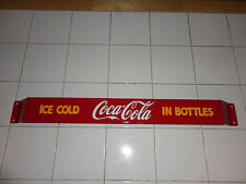 XL 33'' Door push bar Coca Cola Retro Antique Soda Advertising sign