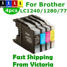 4x Ink Cartridges LC40 LC73 LC77 LC1240XL for Brother MFC J432W J625DW J6910DW