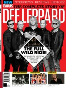 THE COMPLETE STORY OF DEF LEPPARD - CLASSIC ROCK MAGAZINE - FROM THE ARCHIVES