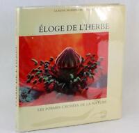 Macrophotography 1988 Eloge De L'Herbe Les Formes Cachees De La Nature HC w/DJ