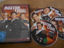 DVD Serie Boston Legal Season 1 (5 Disc/660+ min) 20TH CENTURY disc 2 fehlt !!