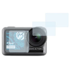 Bruni 2x Schermfolie voor DJI Osmo Action Screen Protector Displaybeveiliging