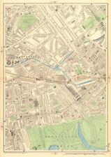BAYSWATER MAIDA VALE Paddington Bayswater Westbourne Park St Johns Wood 1903 map