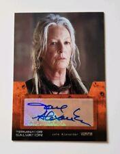 Topps Terminator Salvation Autograph Card Jane Alexander