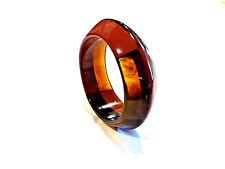 Bijou bracelet jonc lucite flammée résine bicolore idéal pour cadeau