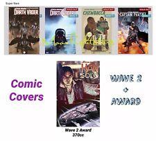 Topps Star Wars Card Trader - Marathon Comic Covers Wave 2 + Han Solo Award