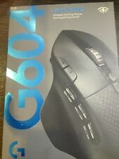 New Logitech - G604 Wireless Optical Gaming Mouse - Black Free Ship