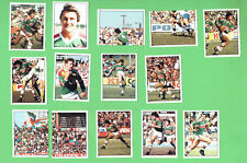 1983 RUGBY LEAGUE STICKERS - SOUTH SYDNEY RABBITOHS