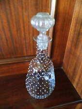 Antica Acqua Caraffa di vetro, tardi Biedermeier, contenuto 1 LITRI