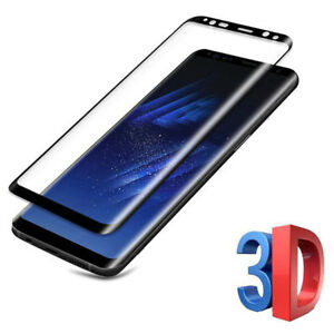 3D Full Coverage Screen Protector Thin Tempered Glass For Samsung Galaxy Note 8