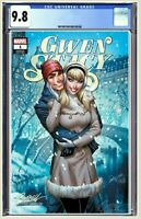 💥 Gwen Stacy #1 CGC 9.8 Graded J Scott Campbell Cover D Variant Pre-Order 💥