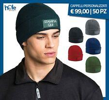 Cappello cappellino berretto personalizzato uomo invernale da caccia pesca stock