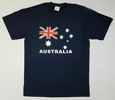 Men Adult Australian Australia day Souvenir T-shirt Short Sleeve Top Tee