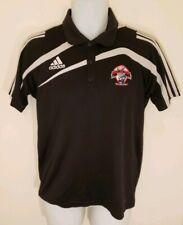 Adidas Soccer Polo Shirt Referee Shirt Small Clima365 Golf Dr Pepper Dallas Cup