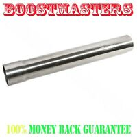 """For Stainless Steel Exhaust Straight Piping Tubing Header 3.5/""""X4/' Intercooler"""