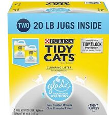 Purina Tidy Cats Clumping Litter with Glade Twin Pack (20 lb., 2 ct.) For Pet