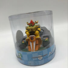 Mario Kart Bowser Pull Back Racer PVC Plastic Figure Car Kart Toy Teddy 5""