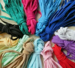 19 Colour 5mm Flat Elastic Cord Soft Stretch Band Sewing for Face Mask DIY