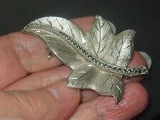 Silver Marcasite Brooch/Pin Vintage Fine Jewellery (1960s)