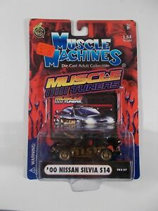 Muscle Machines 1/64 Muscle Tuners '00 Nissan Silvia S14