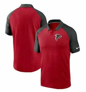 ⭐NWT⭐Men's Nike Atlanta Falcons Dri-Fit Raglan Tri-Blend Polo SZ S M L XL 3X $70