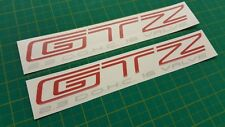 Chevrolet Beretta GTZ 2.3 DOHC Side rear quarter panel Decals Stickers