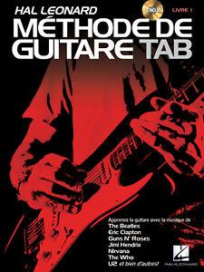 Hal Leonard Méthode de Guitare Tab - Guitare - Recueil + CD