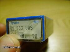 100 pc Schmetz sewing machine needles Uy 163 Gas Ses Nm 70/027
