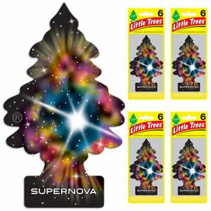 Little Trees Car Air Freshener 24-Pack (Supernova)