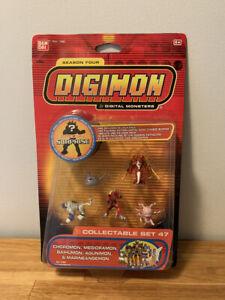 Digimon Collectable Mini Figure Season Four Set 47 Bandai New Sealed MOC