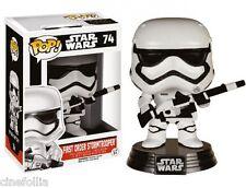 Figura vinile First Order Stormtrooper Blaster Star Wars VII Pop Funko Vinyl #74