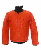 Cold Method Men's Red Coral Turtle Bomber Puffer Coat 0802J22 $330 NEW