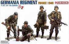 Dragon 1/35 6281 WWII German Germania Regiment (France 1940) (Gen2) (4 Figures)