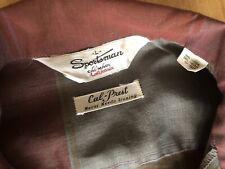 Vintage Sportsman California Cal-Made L Loop Collar Shirt