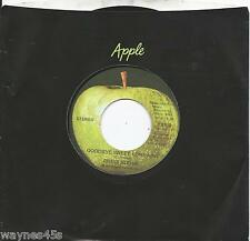 CHRIS HODGE * 45 * Goodbye Sweet Lorraine * 1972 * APPLE Stone MINT fm Box of 25