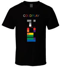 ColdPlay X & Y T-shirt Tee Cotton Black Men Women All Sizes S-234XL DB223