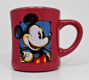 Disney - Fuchsia Mickey Mouse Ceramic 14 oz. Coffee Mug