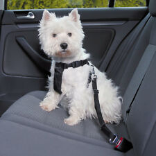 Trixie Car & Walking Dog Harness With Travel Seatbelt Lead XS 20 - 50 Cm