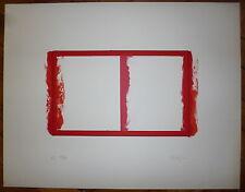 Grau Massip Xavier Lithographie signée numérotée abstraction art abstrait
