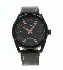 Citizen Masculino 42mm Quartz Relógio Pulseira De Couro 60907