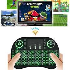 Backlight Mini i8 Wireless Keyboard 2.4GHz Keyboard Remote Control Touchpad
