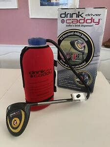 Drink Caddy Golf Dispenser Oversized 440cc Driver Hot or Cold