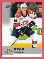 2019-20 Dylan Cozens Upper Deck CHL Star Rookie - Buffalo Sabres