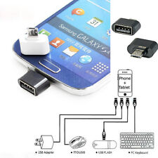 2X  Micro USB To USB 2.0 Adapter Mini OTG 5 Pin Converter For Android Adapter